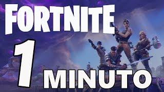 FORTNITE EN 1 MINUTO!!! FORTNITE PARODIA (Homenaje Rubius)