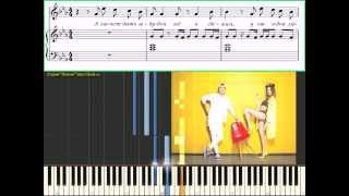 Имя 505 - Время и Стекло (Ноты и Видеоурок для фортепиано) (piano tutorial)