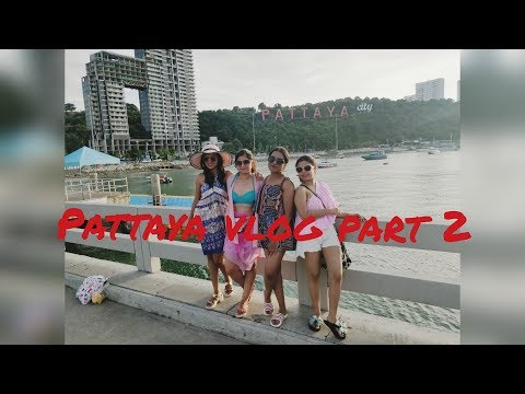 PATTAYA Thai Massage and Coral Beach Island | Day 2, Part 2 #thailandvlog