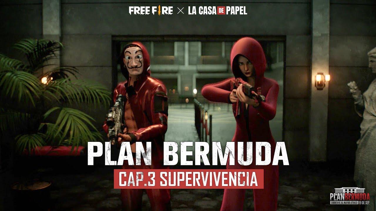 [Animación] Plan Bermuda: Supervivencia EP. 3 - Free Fire x La Casa de Papel | Garena Free Fire