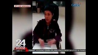 24 Oras: OFW, nanginginig at naka-wheelchair matapos daw mahulog sa hagdan