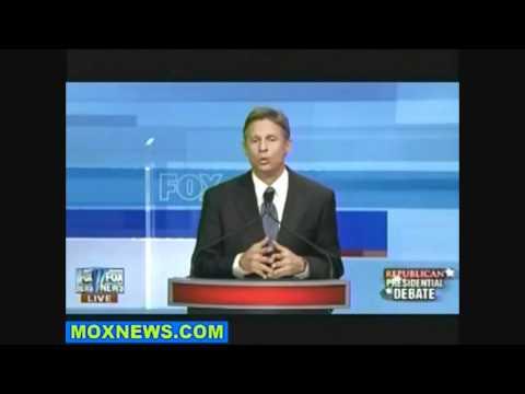 Gary Johnson Republican Presidential Debate Answers FULL HQ