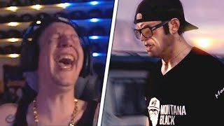 MontanaBlack reagiert auf eigenen KURZFILM!😱 MontanaBlack Reaktion