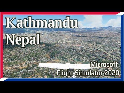 Flight Simulator 2020: Kathmandu, Nepal - 1080p HD