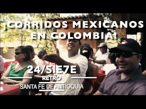 Corridos mexicanos en  Colombia