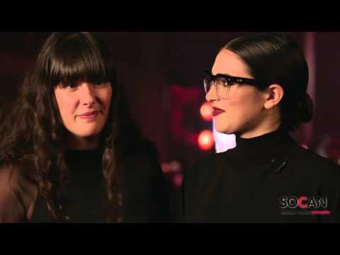 Entrevue SOCAN : Milk & Bone @ Gala de la SOCAN 2015 à Montréal