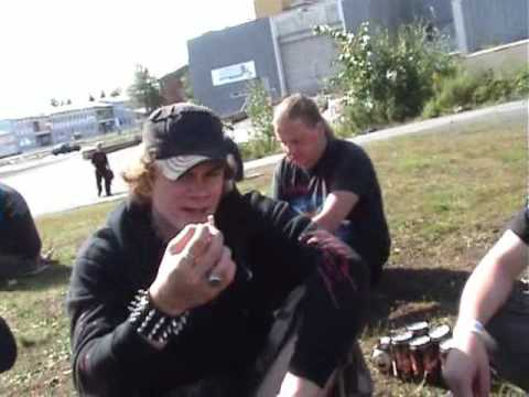 Jalometalli 2009 - atmosphere part 4 + Dawn of Relic -live (in Finnish)
