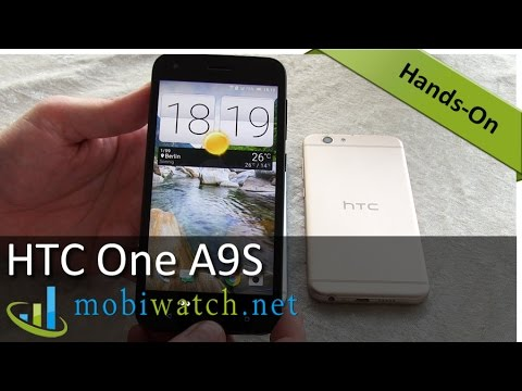 HTC One A9S: Sleek Metal Phone With Fingerprint Scanner | Hands-on Video Review