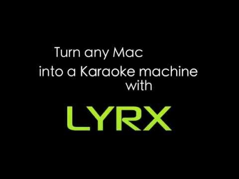 LYRX Karaoke Software For MAC - Getting Started Feature Over