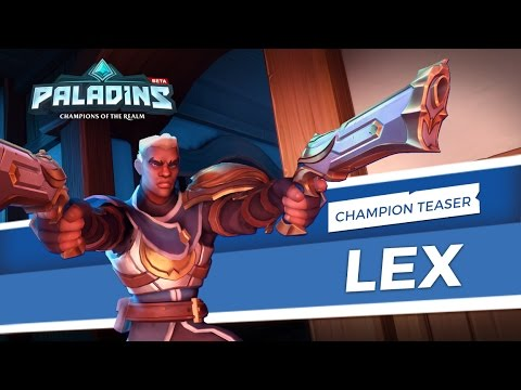 Paladins - Champion Teaser - Lex, The Hand of Justice