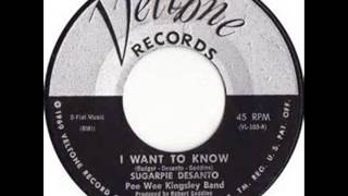 Sugarpie Desanto... I want to know.1960.
