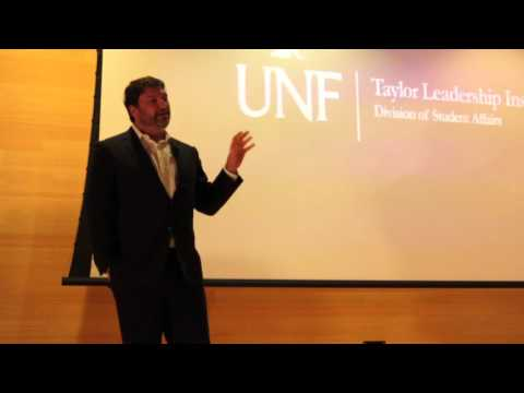 Jacksonville Lawyer Speaks about Leadership at the University of North Florida Leadership Institute