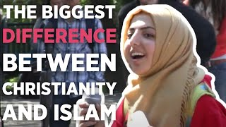 The biggest difference between Christianity and Islam.