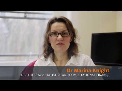 MSc Statistics and Computational Finance at the University of York