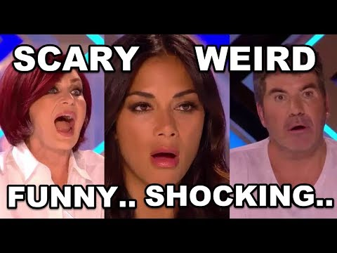 7 WEIRD, SHOCKING and FUNNY AUDITIONS IN X FACTOR UK 2017