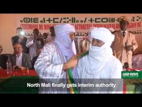 Long delayed interim authority installed in north Mali