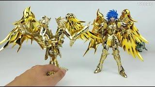[TIMLIN] Review NEW Gemini Saga SOG Divine armor Saint Seiya Myth Cloth EX GREAT TOYS