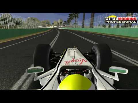F1RFT 2009 : BUTTON Hotlap Round 1 Australian Grand Prix