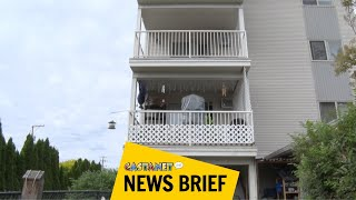 Toddler seriously hurt after balcony fall