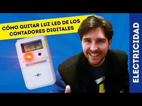 CÓMO APAGAR LED ROJO DEL CONTADOR DE LA LUZ