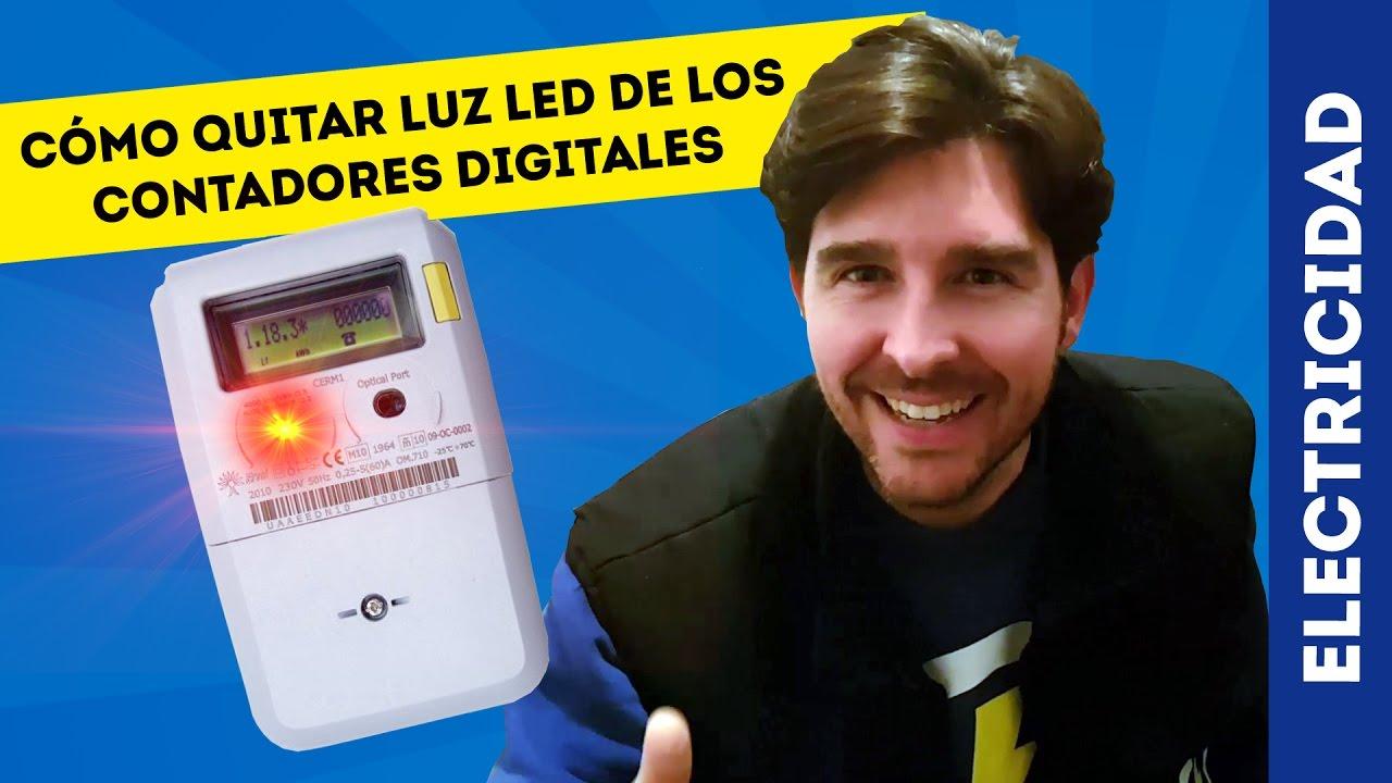Cómo Apagar Led Rojo Del Contador De La Luz Youtube