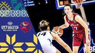 Argentina v Latvia - Full Game - Round of 16 - FIBA U17 Women's Basketball World Cup 2018