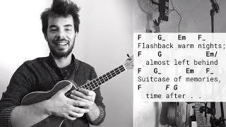 TIME AFTER TIME - Eva Cassidy version ukulele tutorial