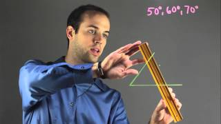 How to Construct a Triangle When Given the Angles : Fun with Math!