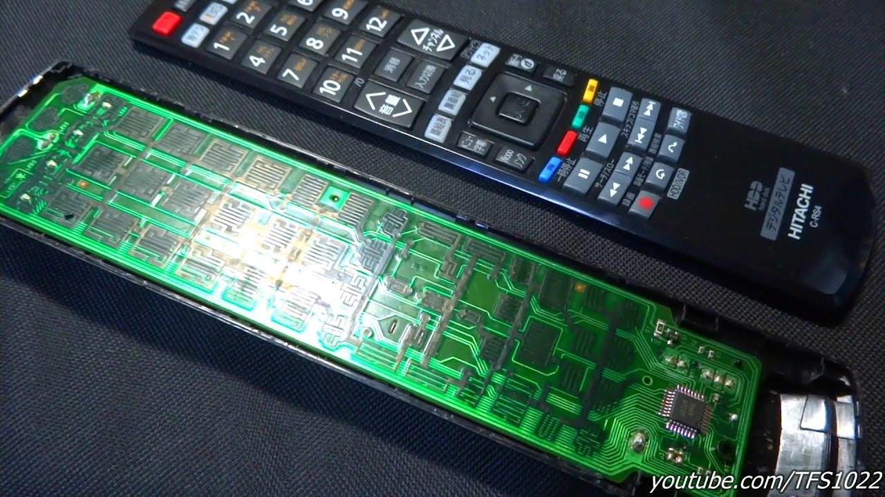故障してボタンの効かないテレビの ...
