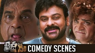Khaidi No 150 Movie Comedy Scenes  Hilarious  Chiranjeevi  Brahmanandam  Ali  Tfpc