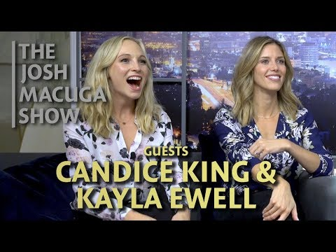 The Josh Macuga   Candice King & Kayla Ewell  A Challenging Direction
