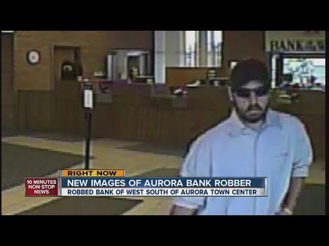 New images of Aurora bank robber