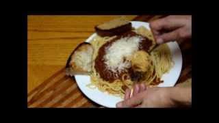 Pressure Canning Spaghetti Sauce