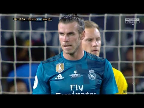 Gareth Bale vs Barcelona HD 720p (Super Cup) (13/08/2017) by V10 Comps
