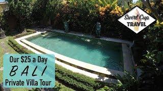 Gambar cover Our $25 a Day Private Pool Villa in Bali (Ubud Villa Tour)
