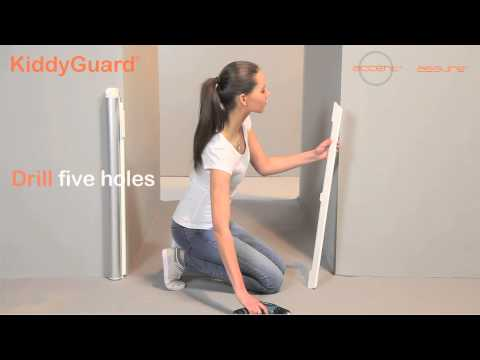 KiddyGuard Assure and Accent baby safety gates installation