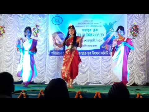 Dhak Baja Kashor Baja Dance