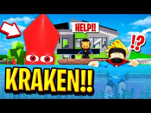 We Found the KRAKEN in Roblox BROOKHAVEN RP!!