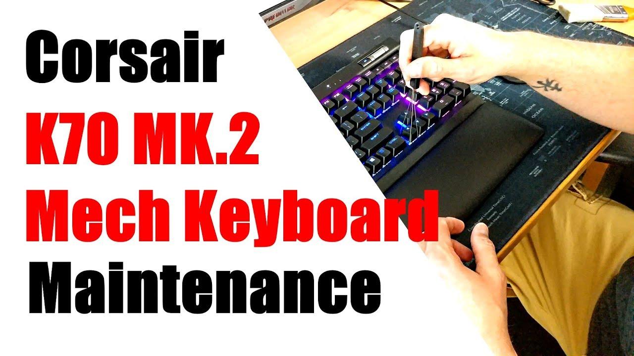 Mech keyboard maintenance + Keycap swap