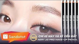 Sàn Đồ Tốt Review 360:  Chì kẻ mày và kẻ viền mắt Aery Jo Pro Make Up Pencil (A40)