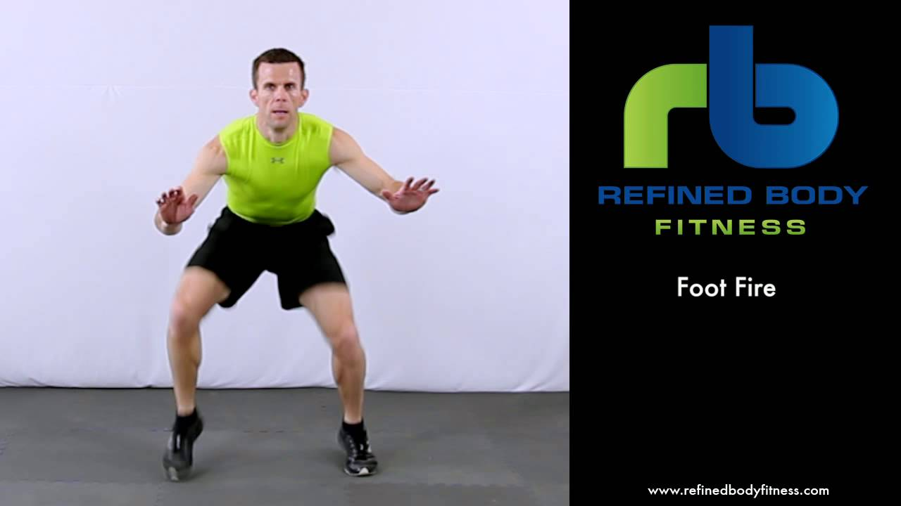 Image result for foot fire exercise
