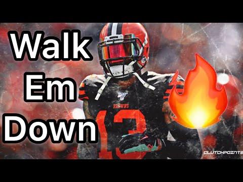 Odell Beckham Jr NFL Mix~Walk Em Down (NLE CHOPPA & Roddy Rich)