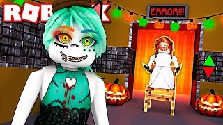 THE ELEVATOR OF TERROR in ROBLOX! Halloween Scary Elevator English