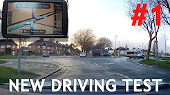 Real Example #1 of New Test Route with Sat Nav - Driving Test