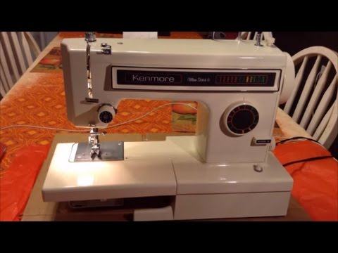 Kenmore Sewing Machine Model 158