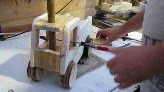 Ride On Wooden Truck Toy