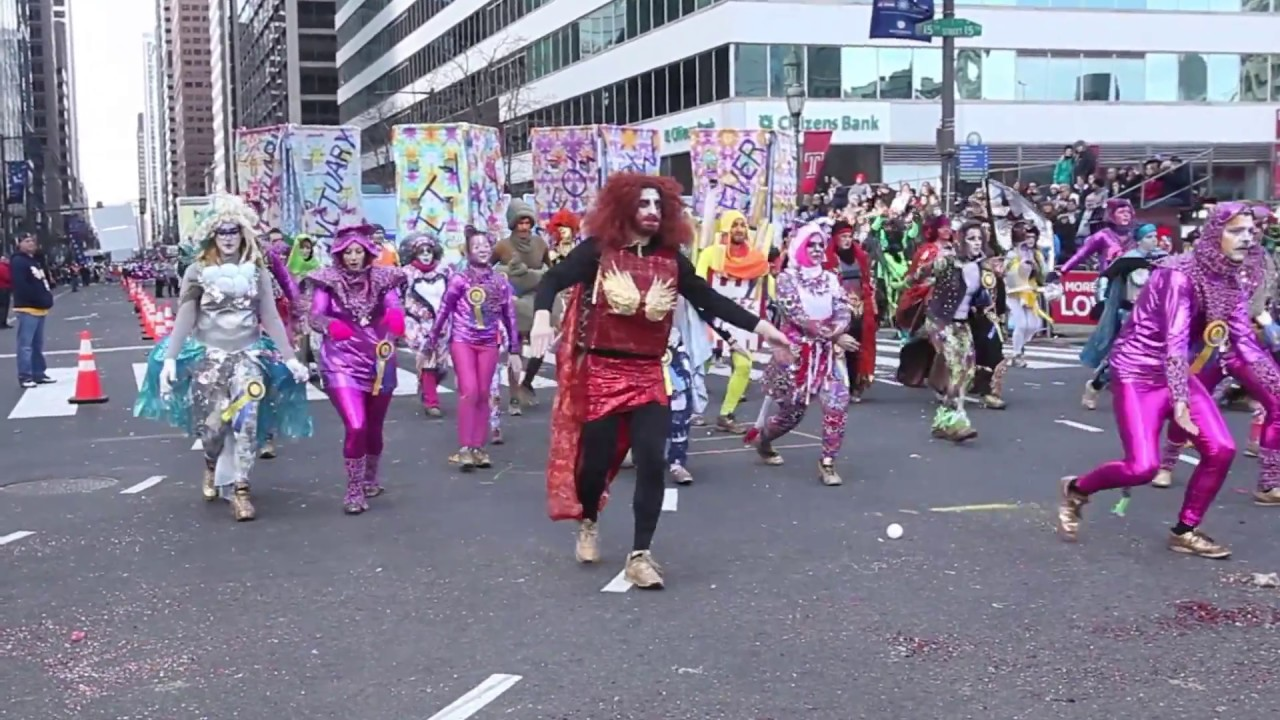 What is the mummers parade