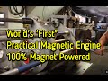 Selfstarting Magnet Motor 100% Magnet Po