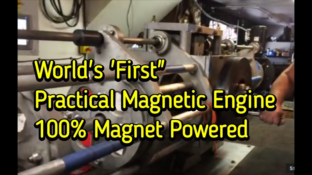 Selfstarting Magnet Motor 100 Magnet Powered Youtube