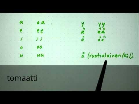 thinkinfinnish: Finnish vowel lengths